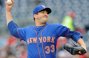 Credit: Mitchell Layton/Getty Images ... Harvey pitching during the 3rd inning against the Nationals