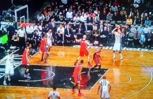 Brook Lopez Shooting Brooklyn Nets