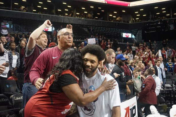 Bembry with family