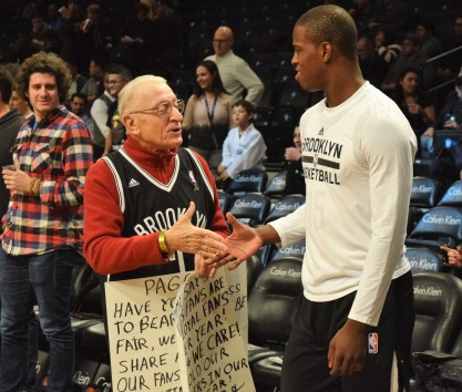 (Photo Credit: Barry Holmes) Whitehead is really starting to fit in here in Brooklyn.