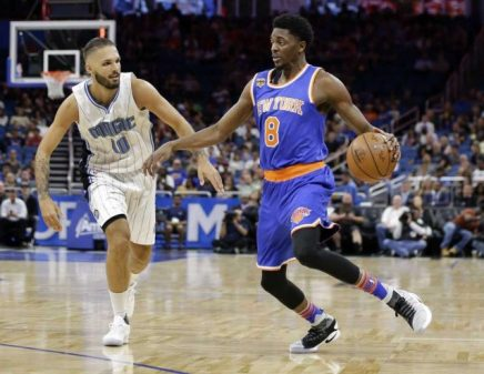 (Photo Credit: John Raoux, AP) Holiday has been effective off the bench for New York.