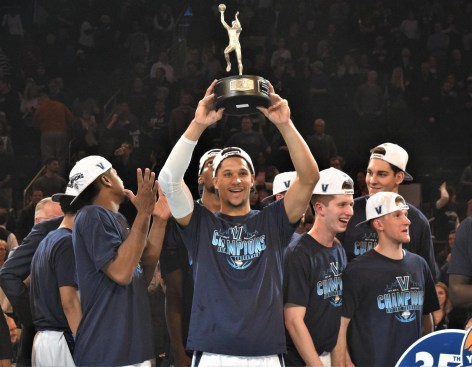 (Photo Credit: Barry Holmes) Hart earned his 2nd Big East Tournament MVP.