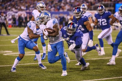 (Photo Credit: Bobby O'Hara/PureSportsNY) Abdullah hurt the Giants with his elusiveness and speed.