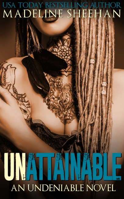 AMAZON COVER - Undeniable 3.0 - Unattainable - Ebook