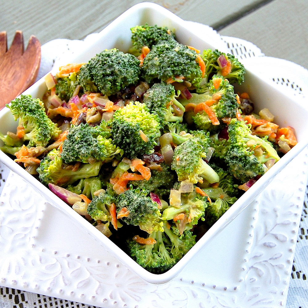 Vegan Broccoli Salad Pure Thyme