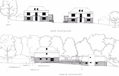 Won on appeal: eight townhouses in Chilbolton Avenue