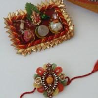 Rakhi for Raksha bandhan (The bond of love): Did I say edible ?????