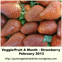Announcing Veggie/ Fruit A Month Event- Strawberry