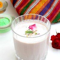 Thandai ~ A refreshing milk drink