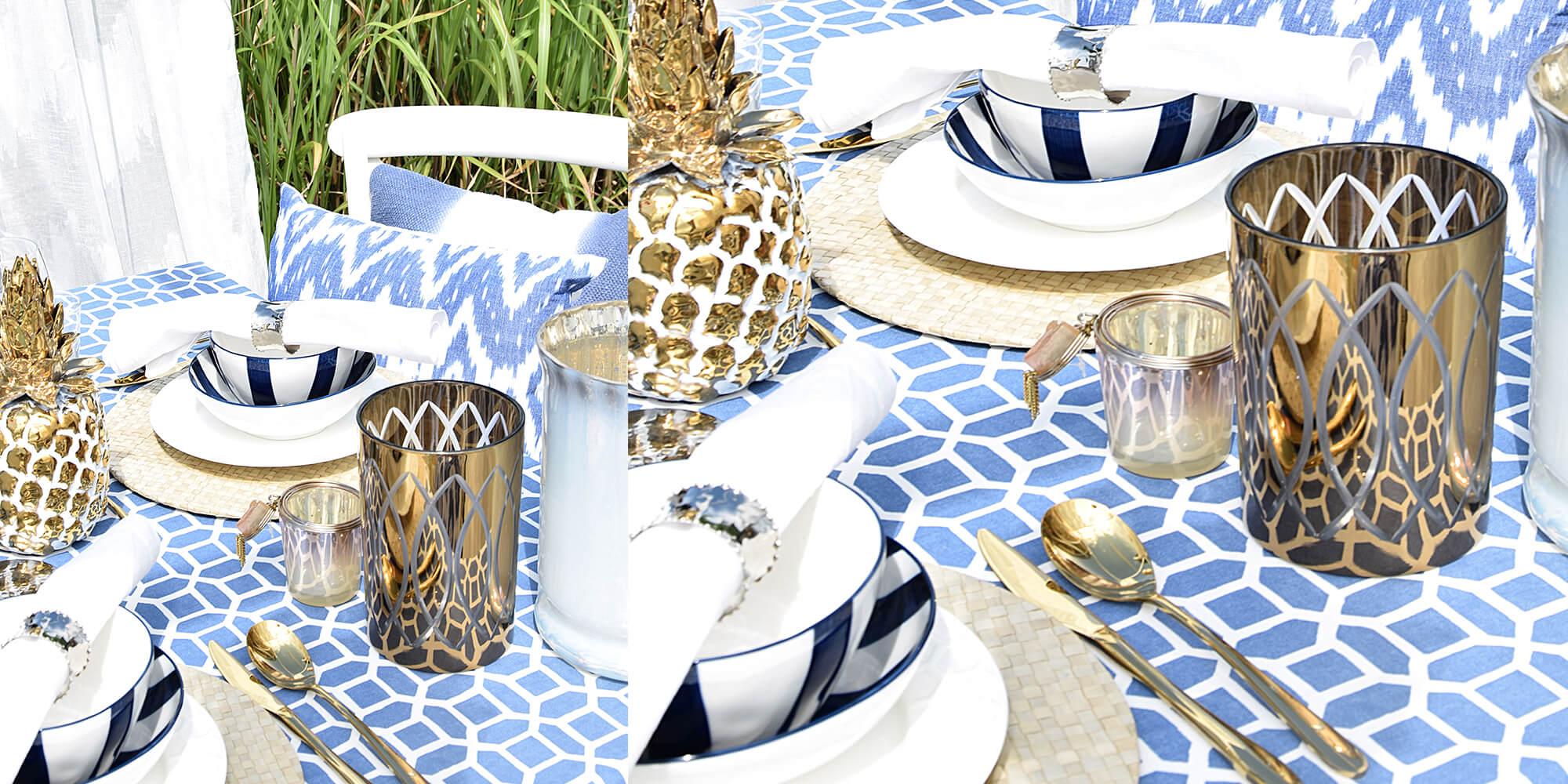 Tischdeko Blau Weiss 60 Mini Muffinformen Blau Kariert Der Ideen