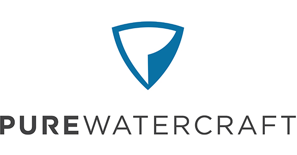 Logo for electric outboard company