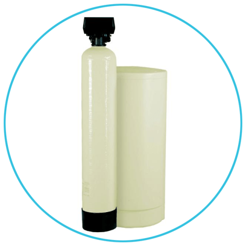 Fleck Water Softener with Brine Tank