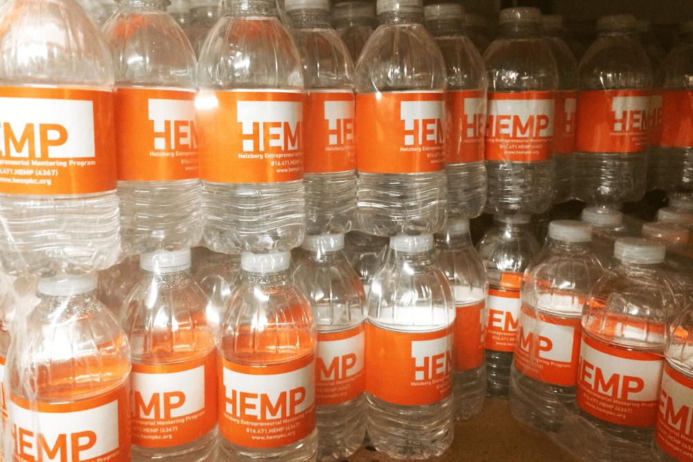 Custom Label Water Bottles