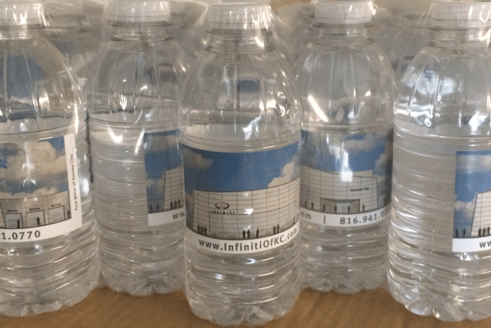 Custom Label Water
