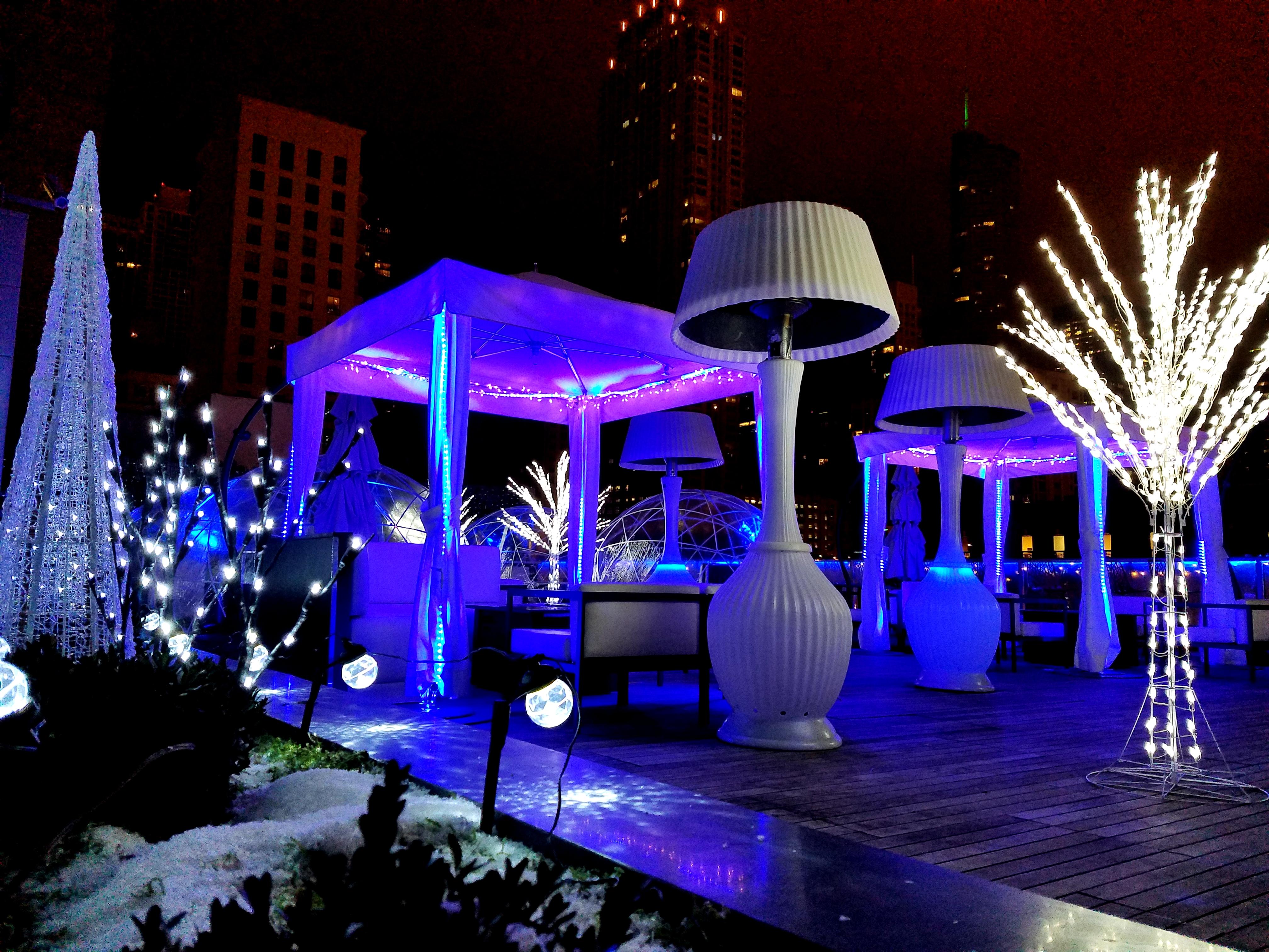 Winter Godfrey Hotel Chicago Rooftop