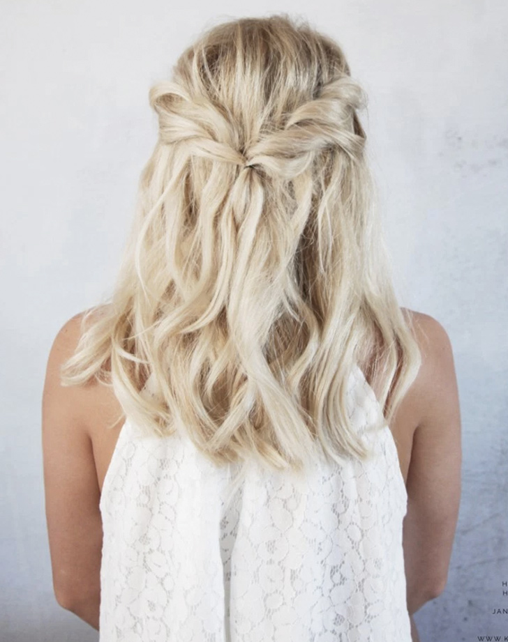 5 easy wedding hairstyles brides