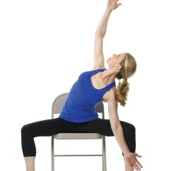 Yoga Chair Pose Human Touch Chairs 12 Poses For Stress And Posture Purewow Openhip