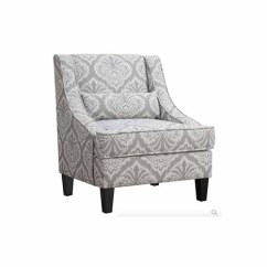 White Club Chairs Hanging Chair Office 30 Super Comfy Armchairs Under 300 Purewow Jacquard Patterned Accent