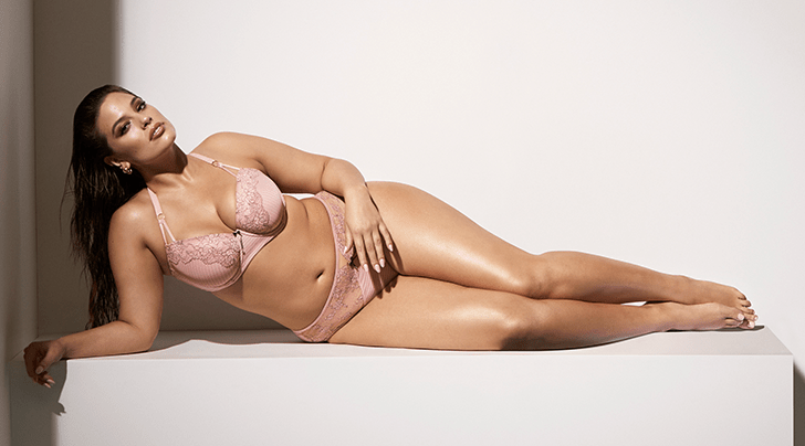 Ashley Graham Launches Lingerie Collection With Addition