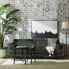 Amazon Com Living Room Furniture Simple Curtains The Best Pieces Of To Buy On Purewow Midcentury Green Velvet Sofa