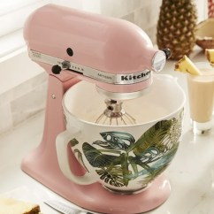 Kitchen Aid Bowls Retro Design Kitchenaid Releases 4 New Stand Mixer Purewow S Mixing Are Damn Trendy And Adorable