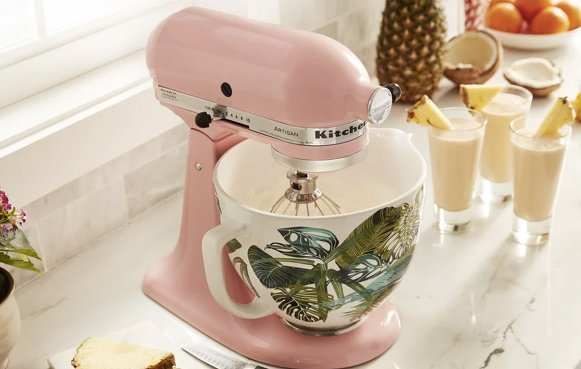 kitchen aid bowls kraftmaid cabinet prices kitchenaid releases 4 new stand mixer purewow s mixing are damn trendy and adorable