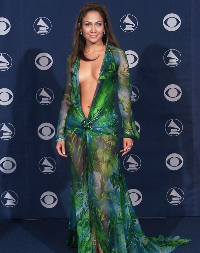 Jennifer Lopez Iconic green versace dress