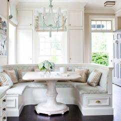 Banquette Kitchen Hood Ideas Nook Inspiration Purewow Section Off The