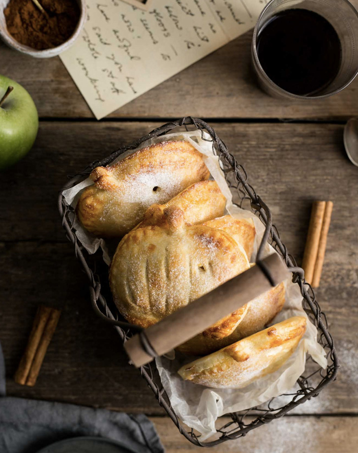 spiced apple and pumpkin hand pies recipe