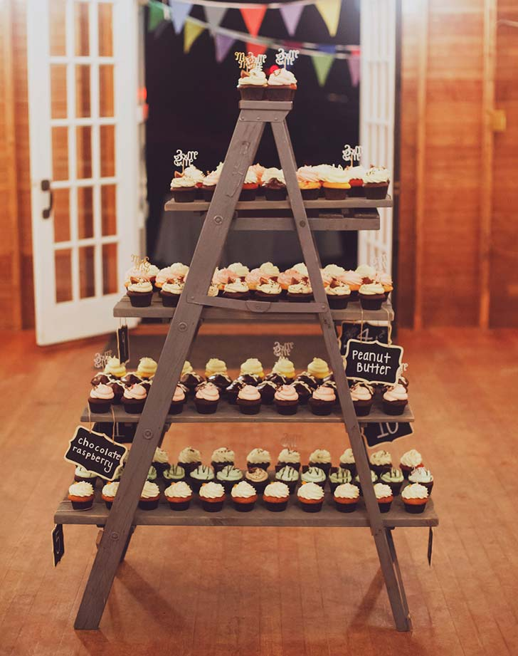 wedding snack cupcakes
