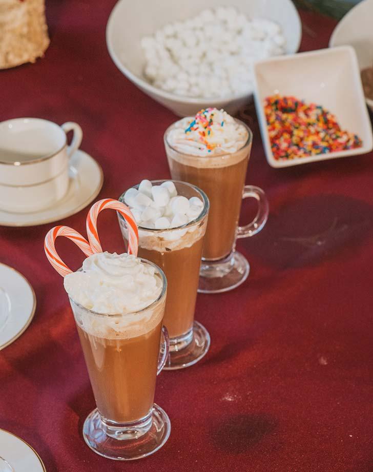 wedding snack hotcocoa