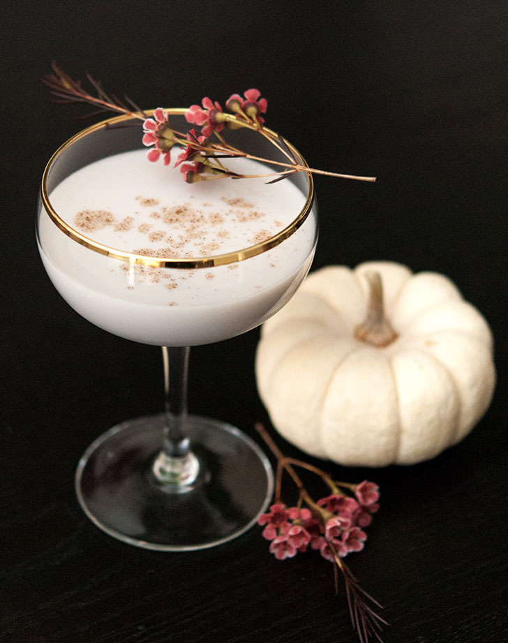white pumpkin cocktail recipe