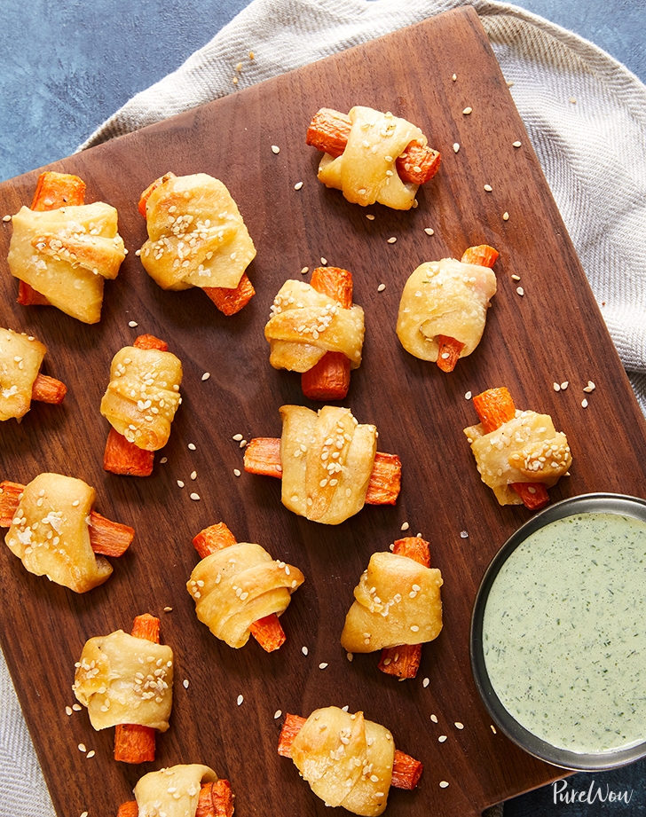 carrot pigs in a blanket recipe1