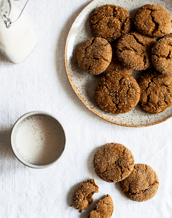 Vegan Molasses Ginger Cookies recipe