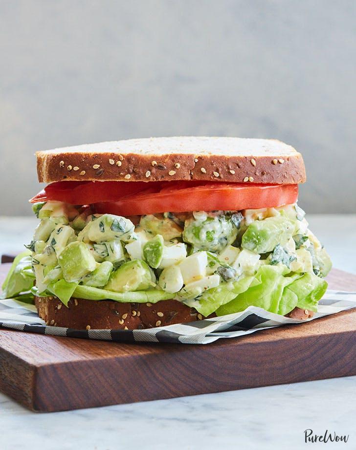 avocado egg salad sandwich recipe 9211