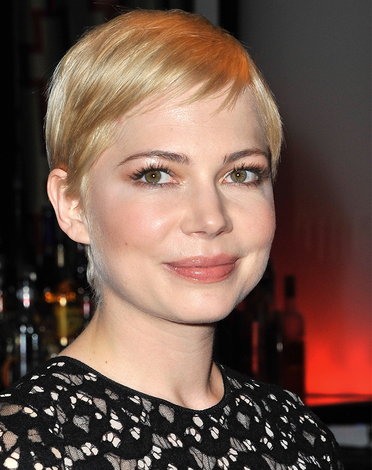 michelle williams hair after