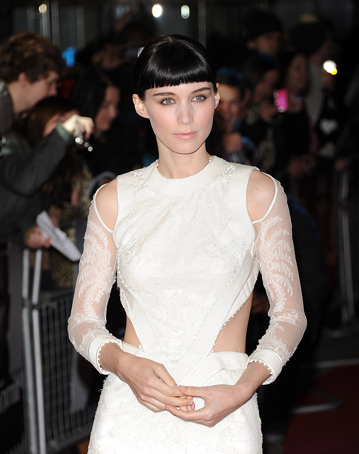 rooney mara hair after