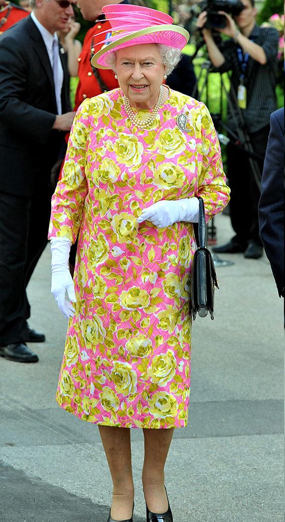 queen elizabeth florals