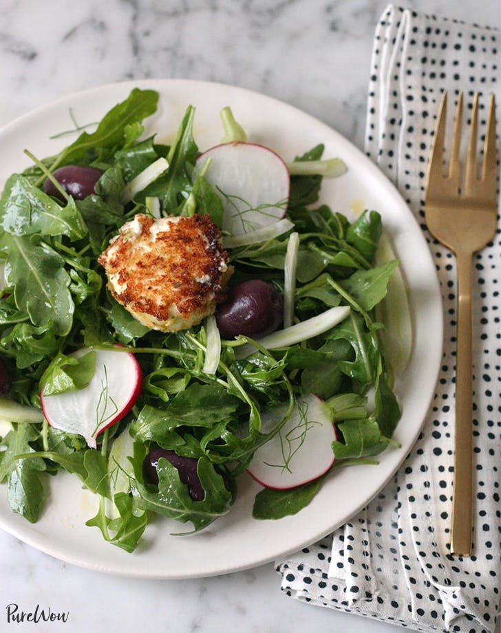 Crispy Goat Cheese Salad Recipe