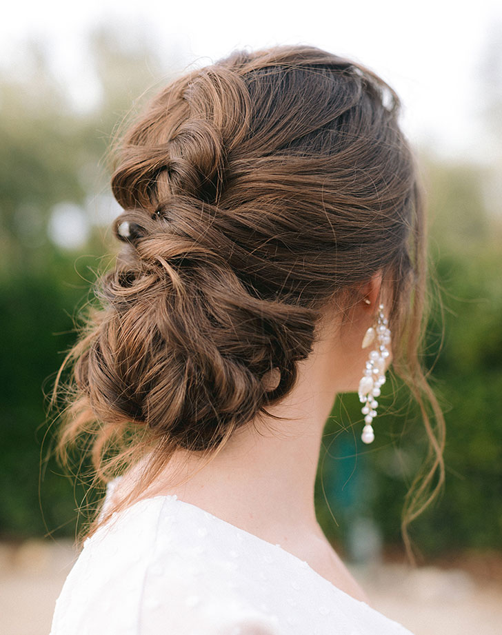 bridesmaid hair style 1