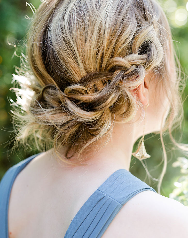 bridesmaid hair style 2