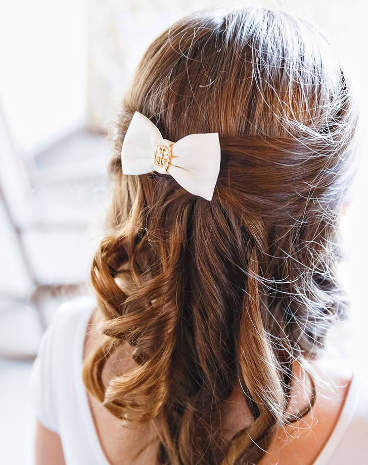 bridesmaid hair style 6