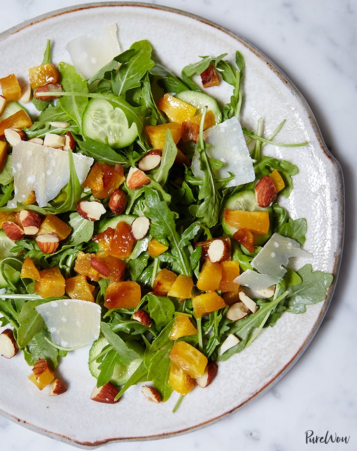 peach arugula salad recipe