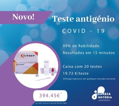 teste rápido antigénio