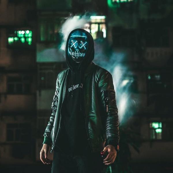LED Purge Mask For Rave, Festivals, Party