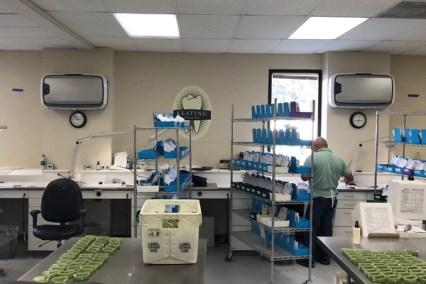 purificateur d'air pour laboratoire d'analyses