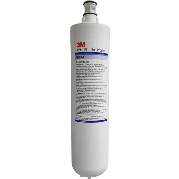 Sistem filtru apa potabila 3M Aqua-Pure HF20 cu capacitate mare, purificator cu carbune activ pentru clor, sedimente montat in bucatarie la chiuveta, la bateria actuala