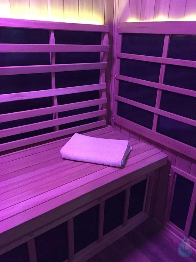 Purify Sauna Lounge  Chromotherapy