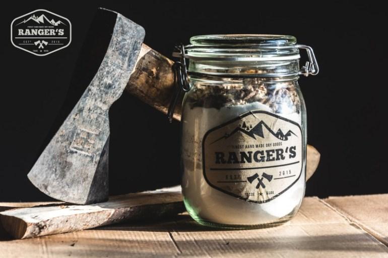 Ranger's Back Mischung und Etikett
