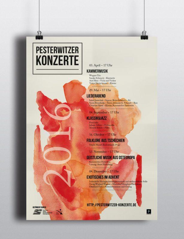 Pesterwitzer Konzerte Plakat-Jahresprogramm 2016